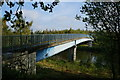 SE3827 : Footbridge over the River Aire near Methley by Ian S