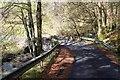 NS0390 : Road bridge below Kilbridemore by Alan Reid
