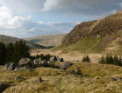 NS6205 : Glen Afton from Castle William by Alan O'Dowd