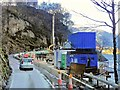 NN3213 : A82 Improvement Work at Pulpit Rock by David Dixon
