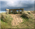 TG4919 : Royal Observer Corps post in the Winterton dunes : Week 18 winner