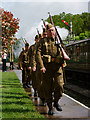 TQ3729 : Bluebell Railway - 'Southern at War' Weekend 2014 : Week 19