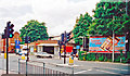 TQ2369 : Raynes Park Station, Down side entrance, 2001 by Ben Brooksbank