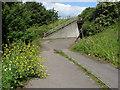 TQ0375 : Subway entrance, Junction 14 by Alan Hunt