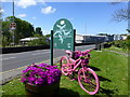 D1240 : Pink bicycle, Mary Street, Ballycastle : Week 19