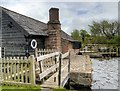 SJ4553 : Stretton Mill and Mill Pond by David Dixon