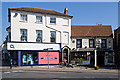 SZ1592 : Buildings of Christchurch (a selection): Ye Olde George Inn and 76 High Street by Mike Searle