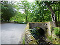 SD6811 : Barrow Bridge Road crosses Dean Brook by Raymond Knapman