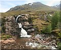 NN1856 : Glencoe waterfall : Week 20