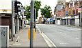 J3773 : The Upper Newtownards Road (EWAY), Ballyhackamore, Belfast - June 2014(1) by Albert Bridge