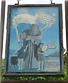 SP8205 : Great Kimble - St Nicholas - Signboard (south) by Rob Farrow