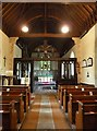 SP7901 : Saunderton - SS Mary & Nicholas - Nave and chancel by Rob Farrow