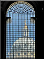 TQ3877 : Dome of the Chapel, Royal Naval College, Greenwich by Christine Matthews