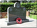 TG0914 : 466th Bomb Group memorial stone by Evelyn Simak