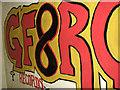 TG0915 : WW2 barrack hut - graffiti by Evelyn Simak