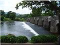 SO2118 : The River Usk at Crickhowell Bridge : Week 24