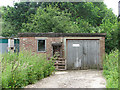 TG1014 : Generator house on Attlebridge airfield by Evelyn Simak