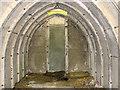 TG1113 : WW2 air raid shelter - interior by Evelyn Simak