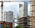 "J3374 : Block ""B"", University of Ulster site, Belfast - June 2014(5) by Albert Bridge"