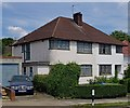 TQ1887 : Two 1930s semi-detached houses, near Wembley by Julian Osley