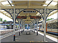TQ1875 : Richmond - Station canopy : Week 25