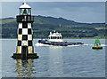 NS3274 : Tug Battler passing Port Glasgow : Week 26