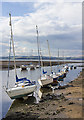 NT1877 : Yachts moored at Cramond : Week 27