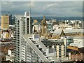 SJ8397 : A View of Manchester City Centre from The Beetham Tower by David Dixon