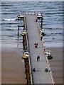 NZ6621 : Strolling on the pier : Week 27
