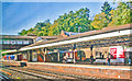 TQ0763 : Weybridge Station by Ben Brooksbank