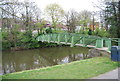 TR1534 : Footbridge, Royal Military Canal by N Chadwick