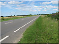 TF6203 : View north along the A10 road by Evelyn Simak