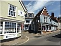 TL5338 : Junction of Church Street and Museum Street, Saffron Walden : Week 28