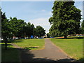 SP0993 : In The Ring looking west-Perry Common, Birmingham by Martin Richard Phelan