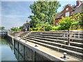 SU9974 : Old Windsor Lock by David Dixon