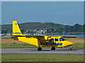 NM9035 : G-HEBO arrives at Oban Airport by TheTurfBurner