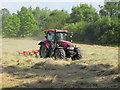 SP5105 : Mowing the hay meadow in Oxford city centre by David Hawgood