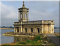SK9306 : Normanton Church, Rutland Water : Week 29