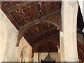 TG1520 : Roof in the north aisle, Haveringland church by Adrian S Pye