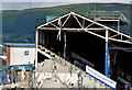 J3272 : The South Stand, Windsor Park, Belfast - July 2014(2) by Albert Bridge