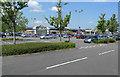 SJ8683 : Car-park at Handforth Dean by Geoff Royle