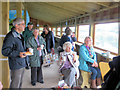 SP9313 : Light Refreshments in the Bird Hide at College Lake by Chris Reynolds