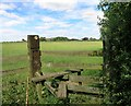 SP6909 : Footpath to College Farm by Des Blenkinsopp
