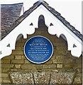 SP9729 : Commemorative plaque, Milton Bryan village hall by Julian Osley