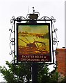 SP6423 : The Plough (2) - sign, Church Street, Marsh Gibbon, Bucks by P L Chadwick
