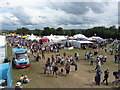 ST5571 : Crowds at the Bristol Balloon Festival by Gareth James