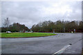 TQ4523 : Batts Bridge Roundabout by Robin Webster