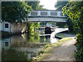 TQ1278 : Bridge 203, Grand Union Canal by Robin Webster