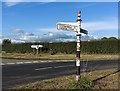 SJ5550 : Road junction near Chorley Bank by William Starkey