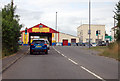ST6256 : A39 junction with A37 by J.Hannan-Briggs